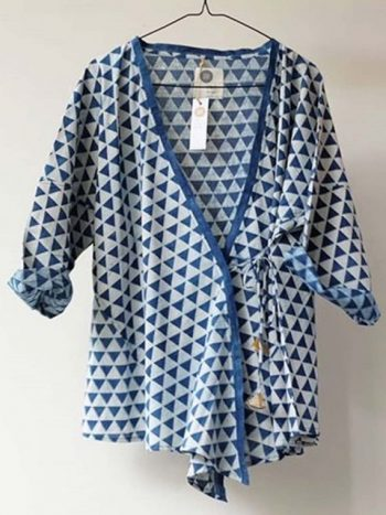 Long Sleeve Outer In Small Triangle