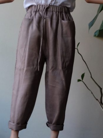 Azur pants hazelnut brown