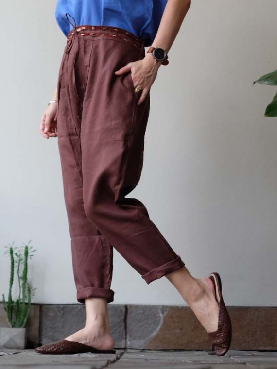 Cote pants brown