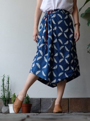 Sicily 3 ways skirt blue indigo