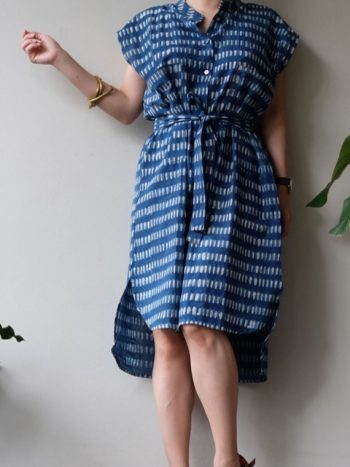 Tilda Indigo Stripes